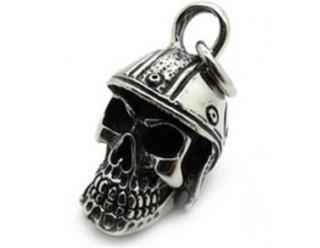 Кулон (на цепочку) череп (HSS415G), интересный