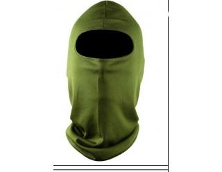 Подшлемник (открыта только область для глаз, темно-зеленого цвета с черной полоской 890058)