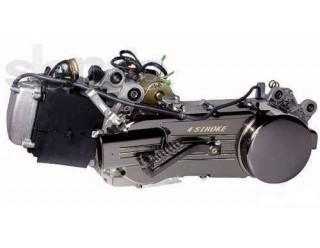 Двигатель скутер 4х такт. GY6-80 (короткий 10 колесо)