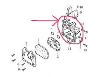 Крышка воздушного фильтра Нитро (корпус)