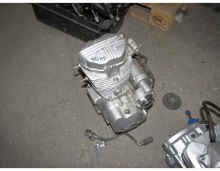 Двигатель на мотоцикл Хантер, двигатель китайского производства в сборе,двигатель на мотоцикл 125 куб.см.