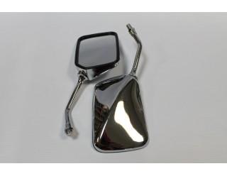 Зеркала (006) квадр. хром крепление в углу
