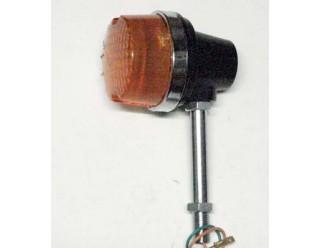 Боковой фонарь (BF-23) круглый Иж ПС желтое стекло