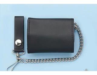 Бумажник байкера, с цепью, средний, COMFORT