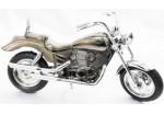 Зажигалка в виде черного стильного мотоцикла HARLEY, большая, настольная