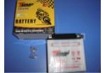 Аккумулятор 12В 4Ач TMMP 12N4-3B/12N-4A (кислотный с электролитом)  штатный Alpha