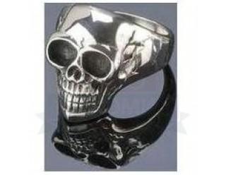 Перстень байкерский SKULL (ЧЕРЕП), 19 мм, Германия