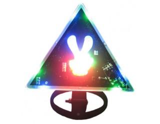 Панно светодиодное (фенька светодиодная), в любое место, два пальца вверх типа VICTORY (победа!)