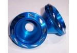 Колпачок декоративный на ось (слайдер) 40 мм, синий