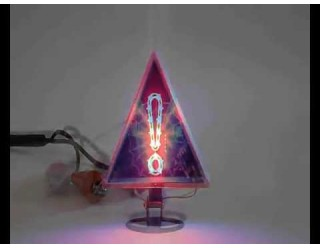 Панно светодиодное (фенька светодиодная), в любое место, треугольник с восклицательным знаком