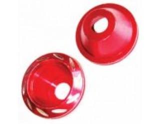 Колпачок декоративный на ось (слайдер) 55 мм, красный