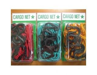 Резинка для багажа (набор 4 шт. = 2 по 2 шт.) (30 см, 45 см) 57018