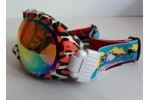 Очки DEX YH-08 (незапотевающие эластичные очки, с черной резинкой и оранжевыми линзами)