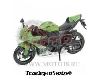 Модель мотоцикла Kawasaki Ninja ZX-10R  1:12  (42443)
