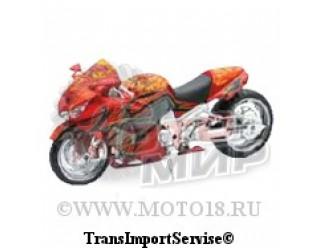 Модель мотоцикла ROARING TOYZ CUSTOM ZX-14, 1:12 (15-5095)