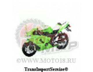 Модель мотоцикла Kawasaki Ninja ZX-6RR  1:18  (67073)