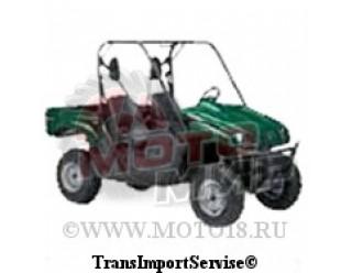 Модель машинки YAMAHA RHINO 700 2008, (зеленая) 1:12 (15-5069)