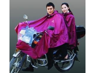 Дождевик на мотоцикл,  двухместный из ткани Oxford (скутер/мопед)