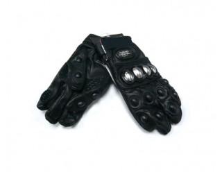 Перчатки PRO-Biker mcs-07 кожа (черные) air bag на пальце