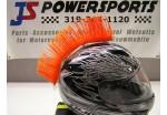 Ирокез (как у панков), на любой шлем HELMET MOHAWK OR (оранжевый), на липучке (снимается)