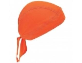 Бандана байкерская (однотонная, оранжевая)
