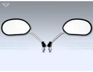 Зеркала (010) металл.(бобовидное, хром) d10