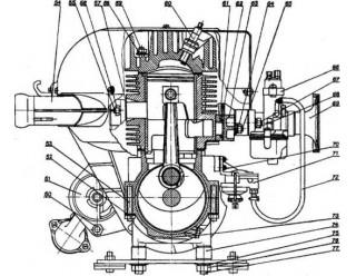 Двигатель и подмоторное основание (16)
