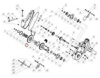 Втулка шестерни Z54 Рысь (113.06.010.010)