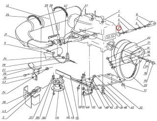 Буфер двигателя (Грибок)(113.00.020.50)