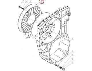 Решетка крыльчатки (440-1308151) (аппарат направляющий)