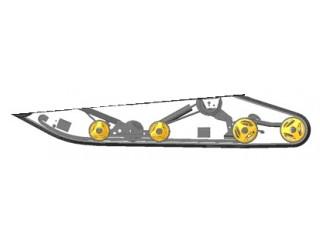 Подвеска ходовой части Атака, Люкс, SE (35)