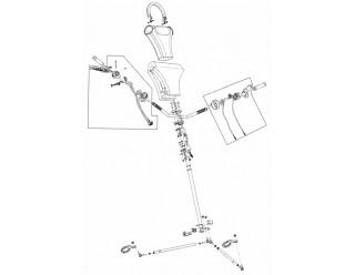 Управление рулевое Тайга нового образца с гидравл.тормозом (32)